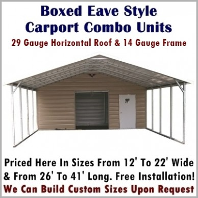 The Ultimate Revelation Of Carport With Storage Shed | carport with storage shed