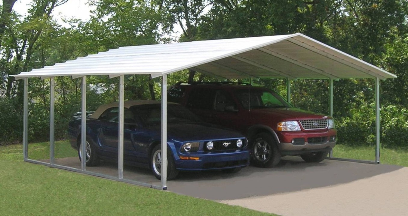 Reasons Why Double Metal Carport Is Getting More Popular In The Past Decade | double metal carport