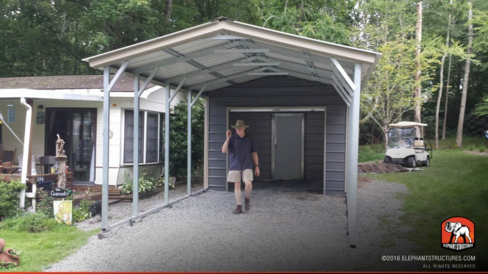 Metal Car Port Kits Will Be A Thing Of The Past And Here's Why | metal car port kits