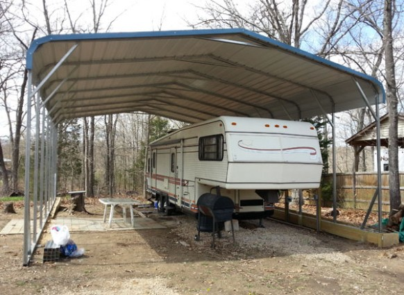 Simple Guidance For You In Metal Carports For Fifth Wheel Camper | metal carports for fifth wheel camper