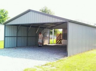 You Will Never Believe These Bizarre Truth Behind Metal Enclosed Carport | metal enclosed carport