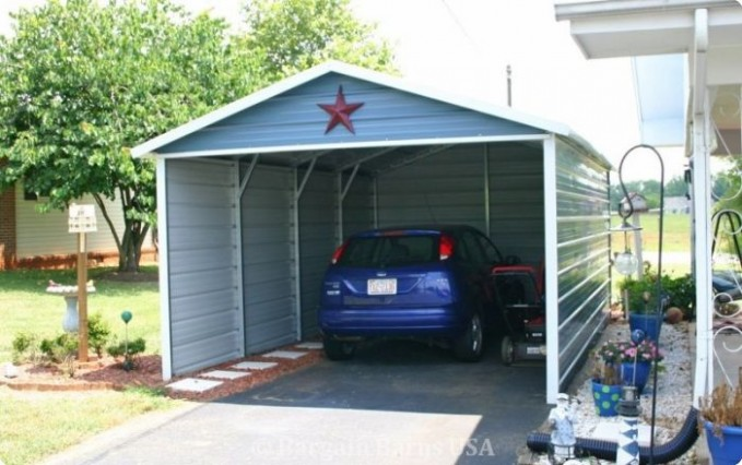 How Will Single Car Carport Size Be In The Future | single car carport size