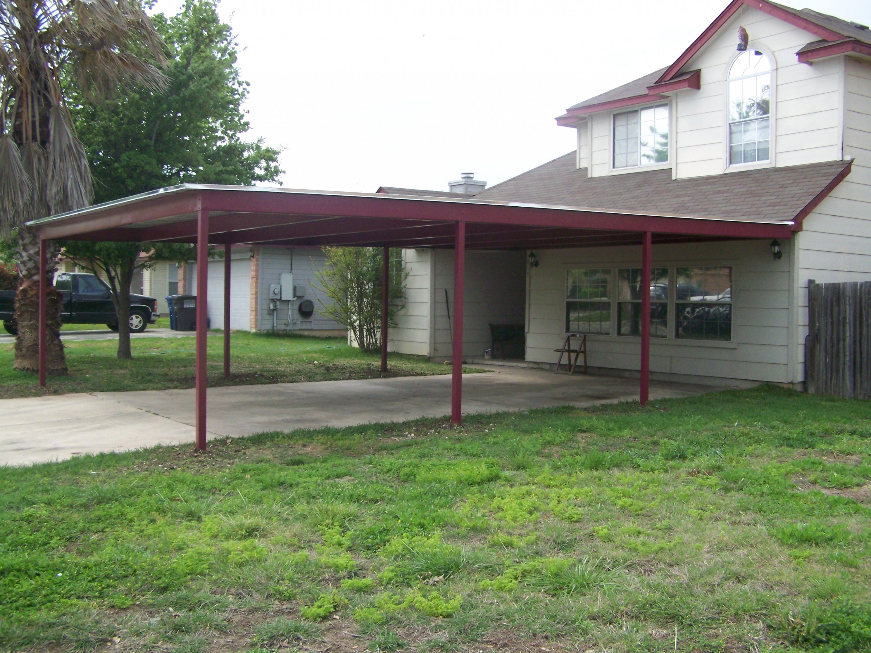 What You Should Wear To Metal Carport Attached To House | metal carport attached to house