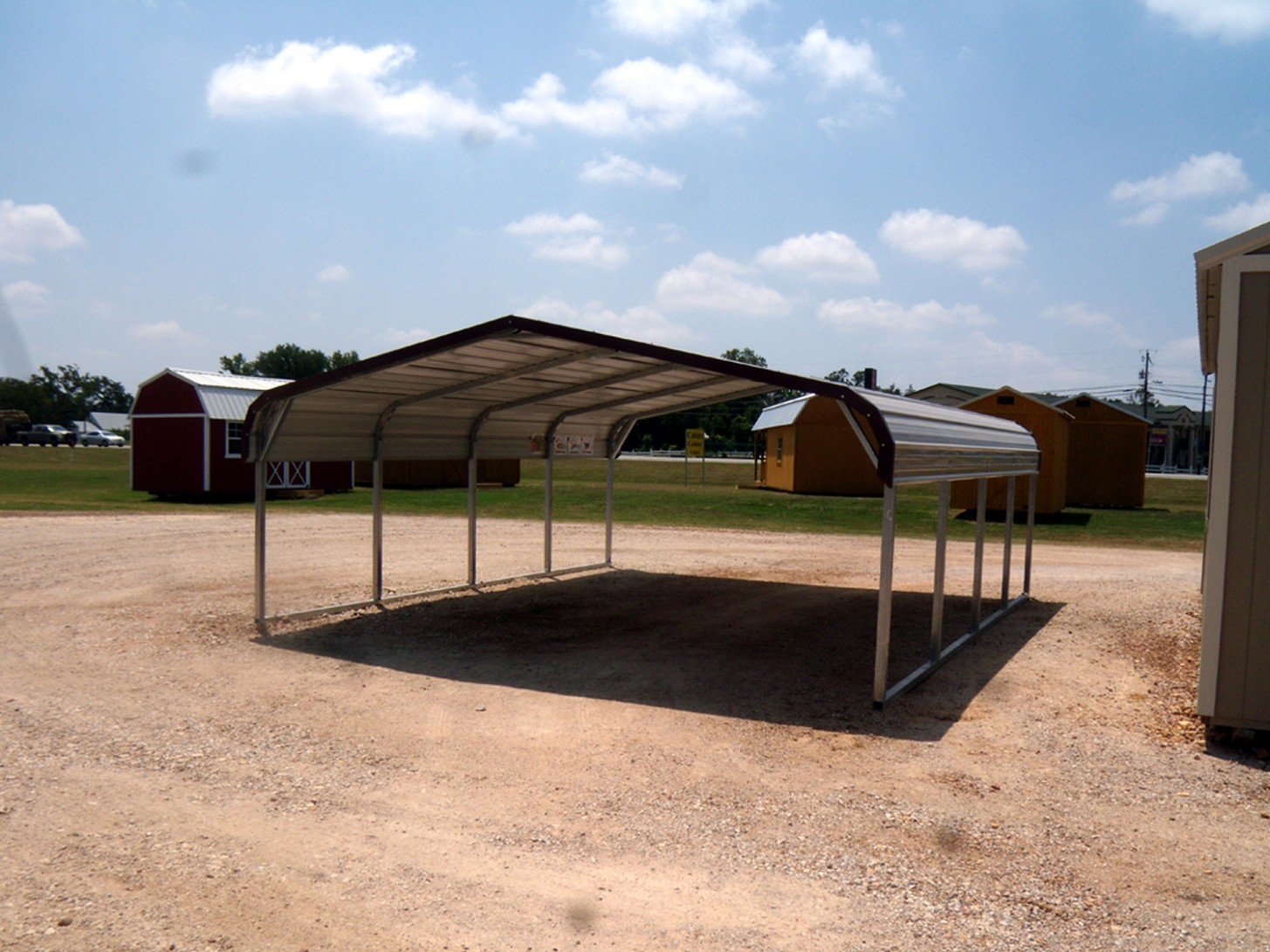 How I Successfuly Organized My Very Own 11 Car Aluminum Carport | 11 car aluminum carport