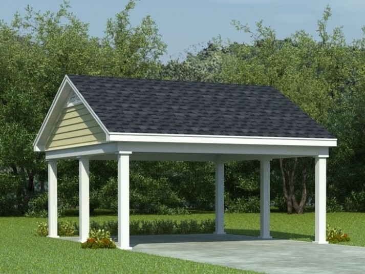 17 How To Build A Double Carport That Had Gone Way Too Far   how to build a double carport