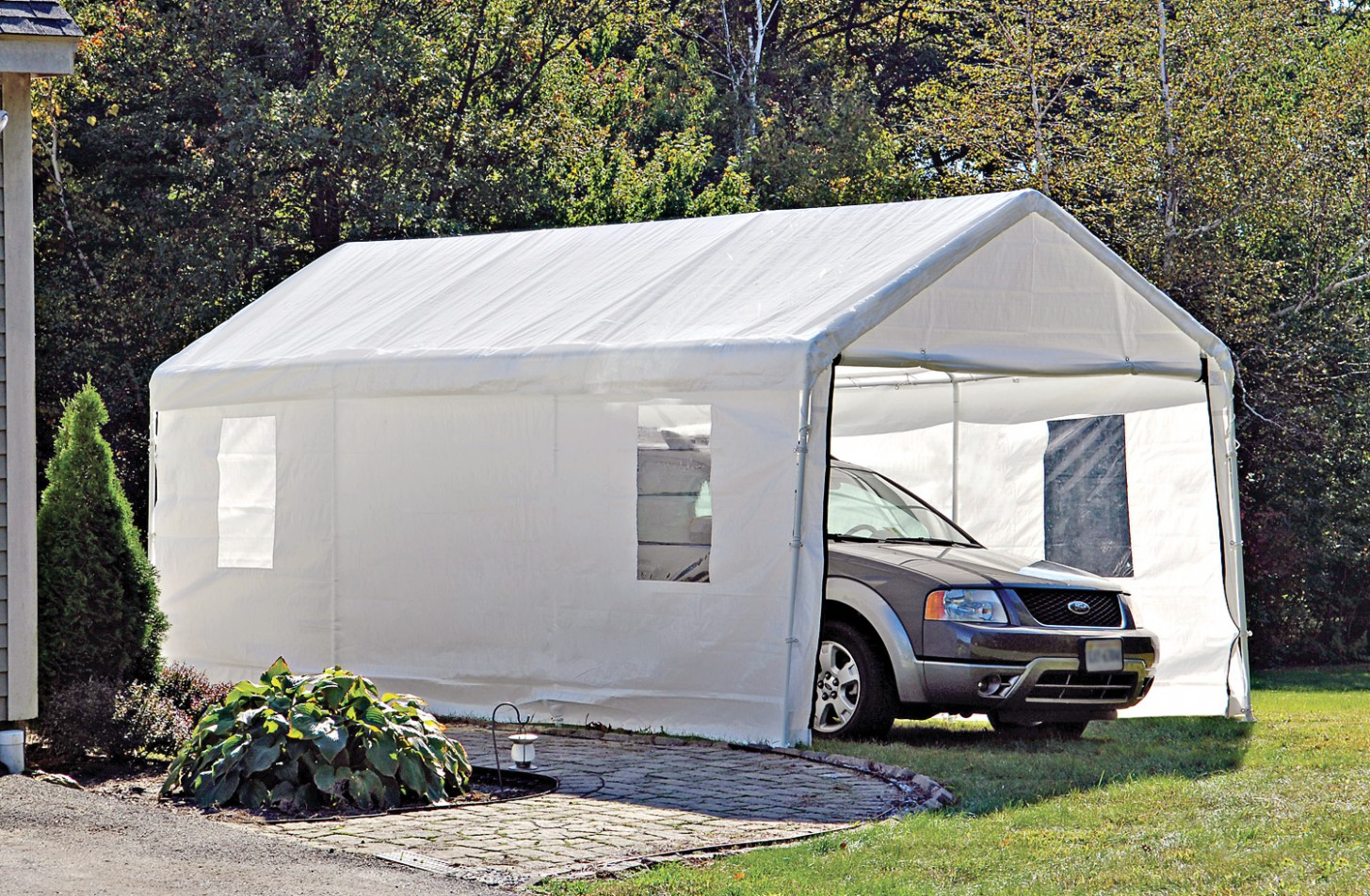 The History of Portable Garage Tent   portable garage tent
