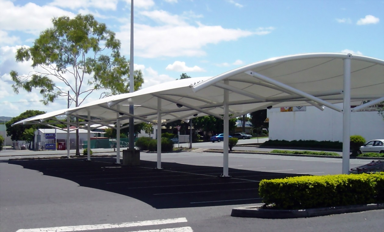 Five Gigantic Influences Of Car Park Shelters | car park shelters
