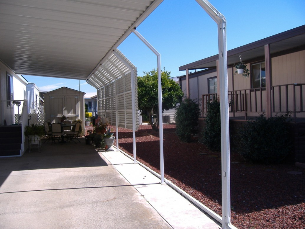 The Hidden Agenda Of Mobile Home Carport | mobile home carport