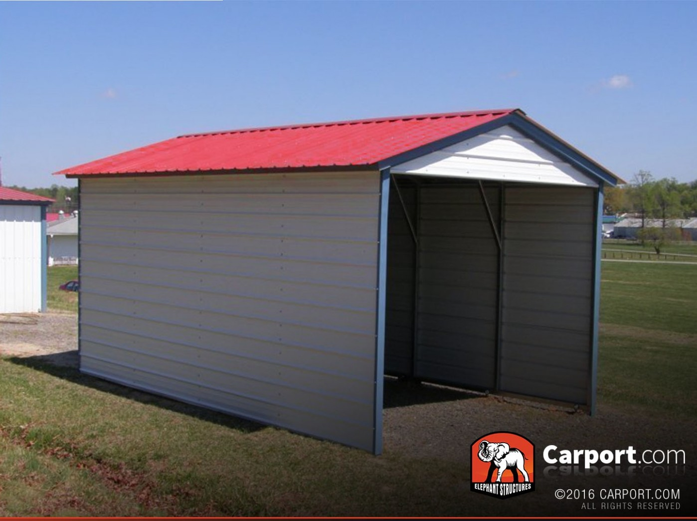You Should Experience Single Metal Carport At Least Once In Your Lifetime And Here's Why | single metal carport