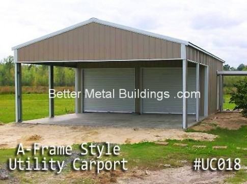Ten Gigantic Influences Of Metal Carport Buildings | metal carport buildings