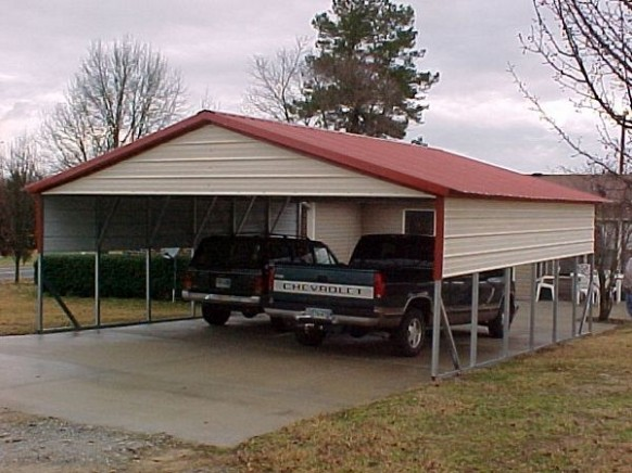 You Should Experience Two Car Metal Carport At Least Once In Your Lifetime And Here's Why | two car metal carport