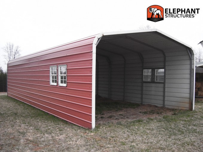 10 Ways On How To Get The Most From This Enclosed Metal Carport | enclosed metal carport