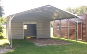 Ten Common Misconceptions About Metal Carport With Shed | metal carport with shed