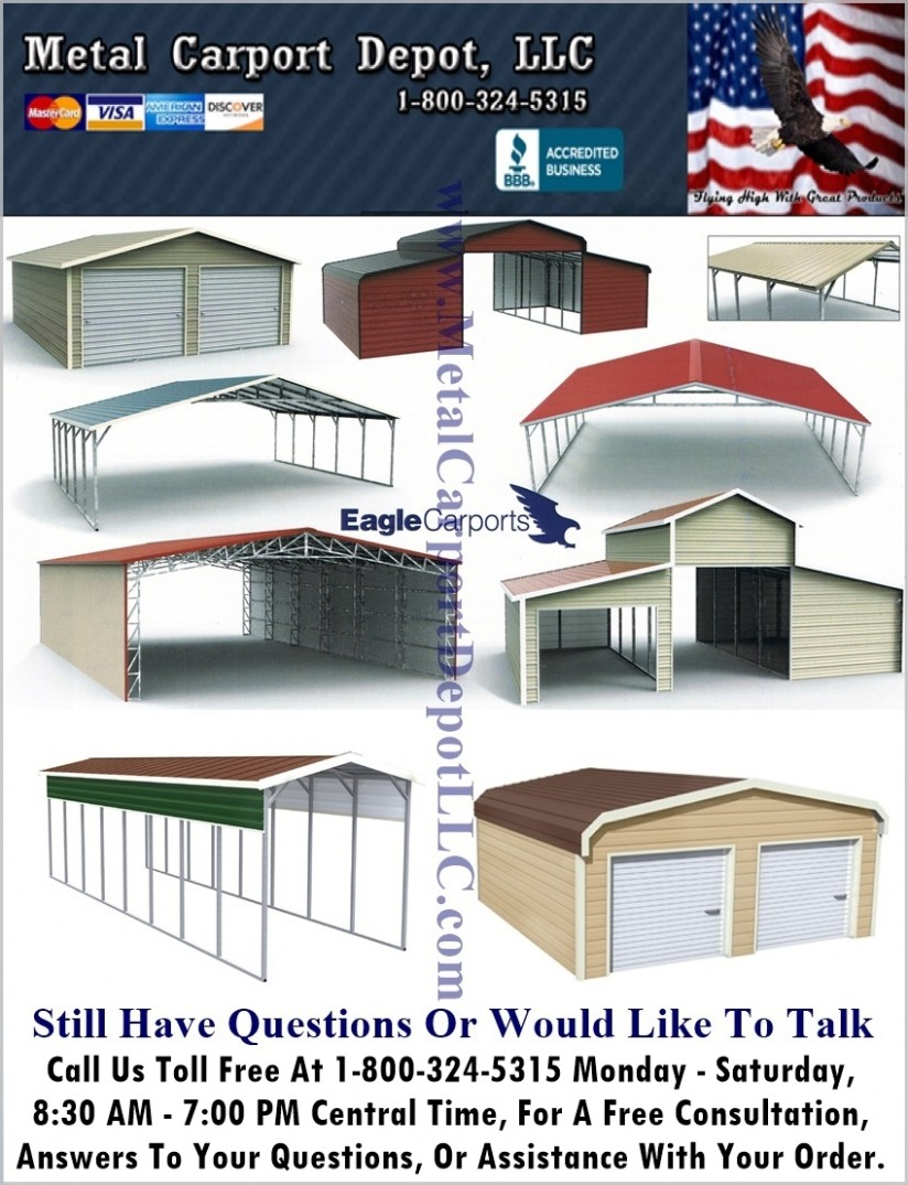 Why Is Everyone Talking About How Much Is A Metal Carport? | how much is a metal carport