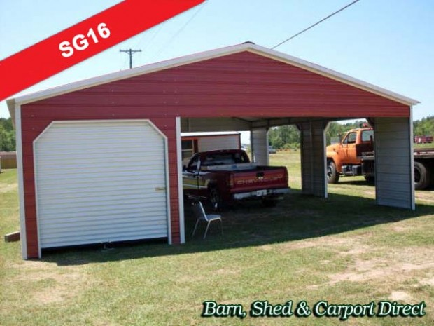 Five Things That Happen When You Are In Metal Carport With Storage | metal carport with storage