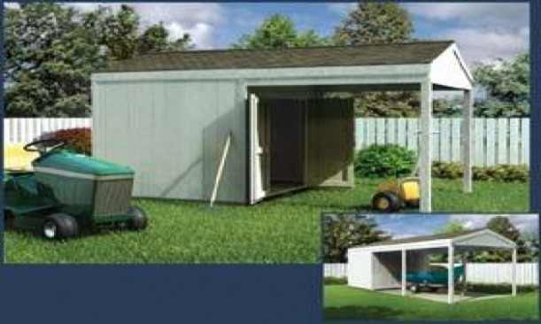 Five Taboos About Carport With Storage Shed Attached You Should Never Share On Twitter | carport with storage shed attached