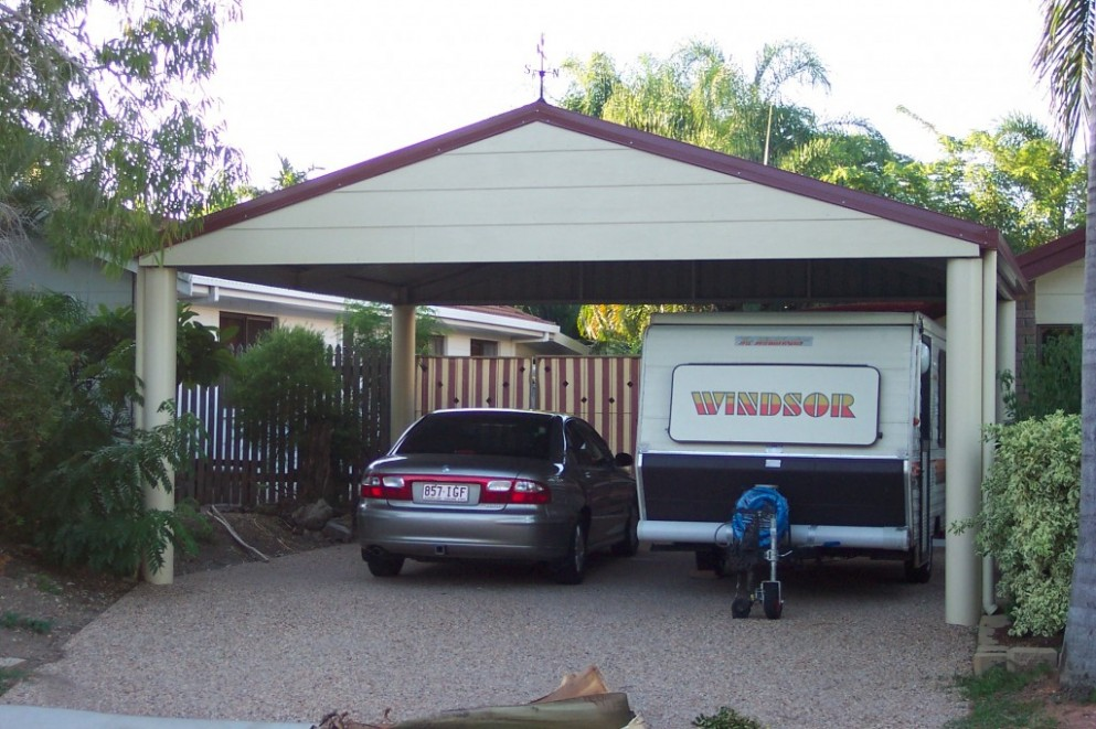 10 Various Ways To Do Gable Carport | gable carport
