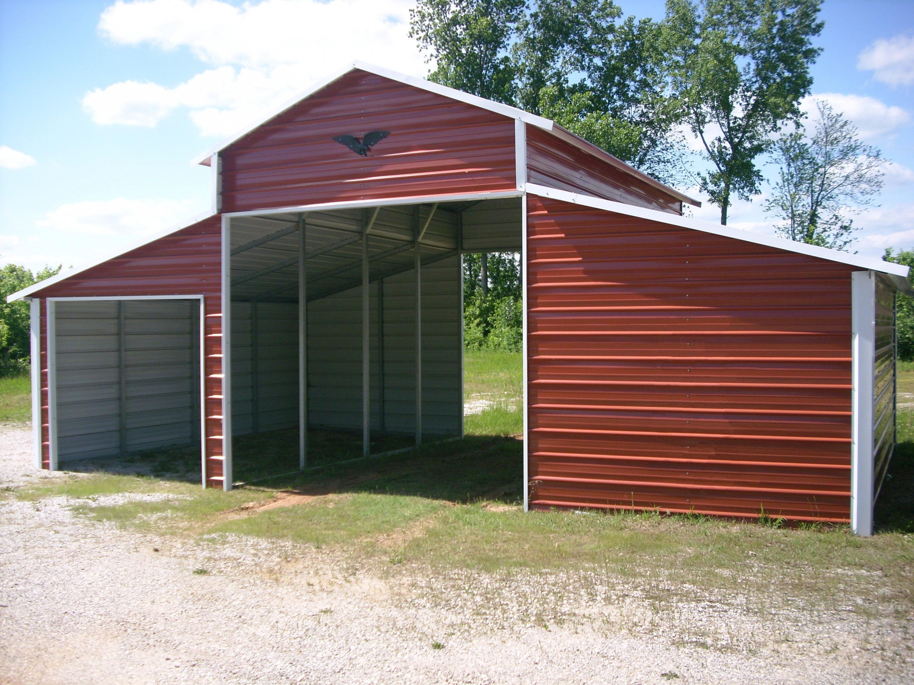Ten Metal Shed With Carport That Had Gone Way Too Far | metal shed with carport