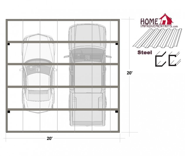 Understanding The Background Of Steel Carport Plans Free | steel carport plans free