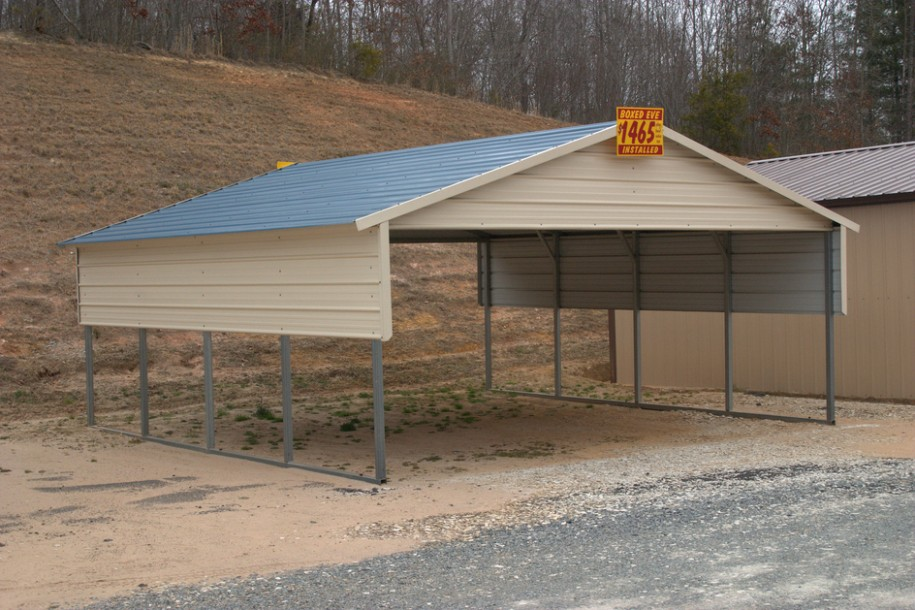 10 Outrageous Ideas For Your Steel Carports | steel carports