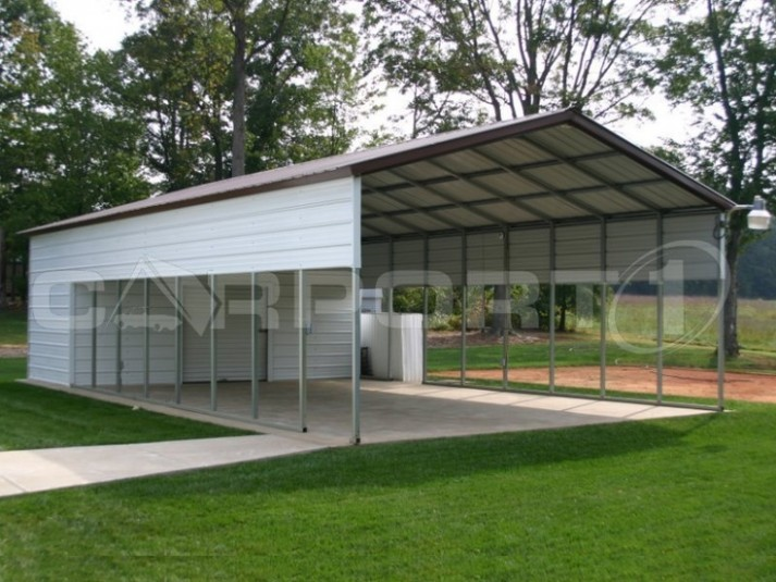 Ten Outrageous Ideas For Your Metal Boat Carports | metal boat carports