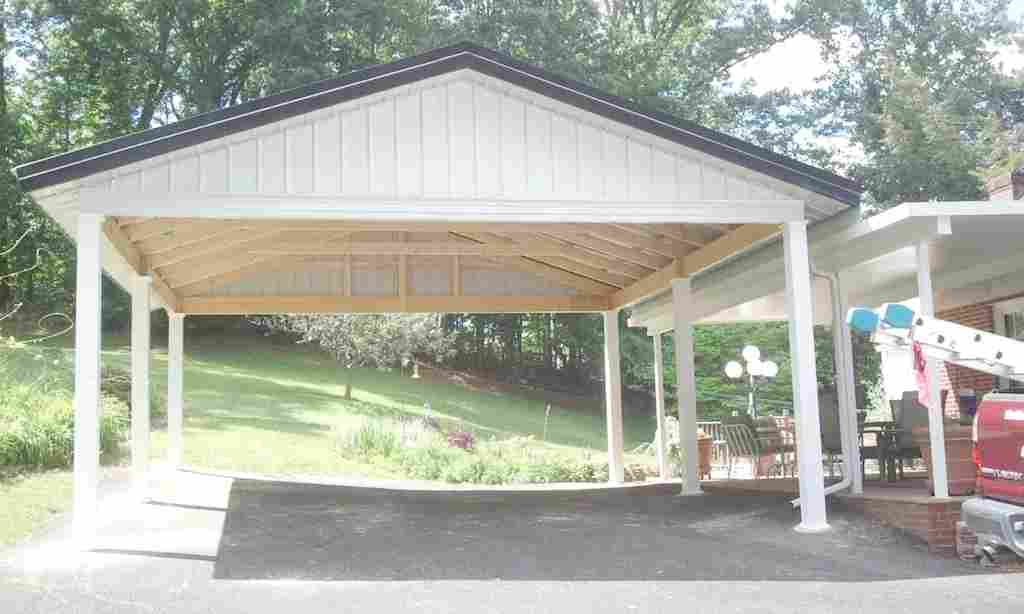 how to enclose a carport to make a room adding walls to a carport enclose a metal carport with wood closing in a carport to make a garage c