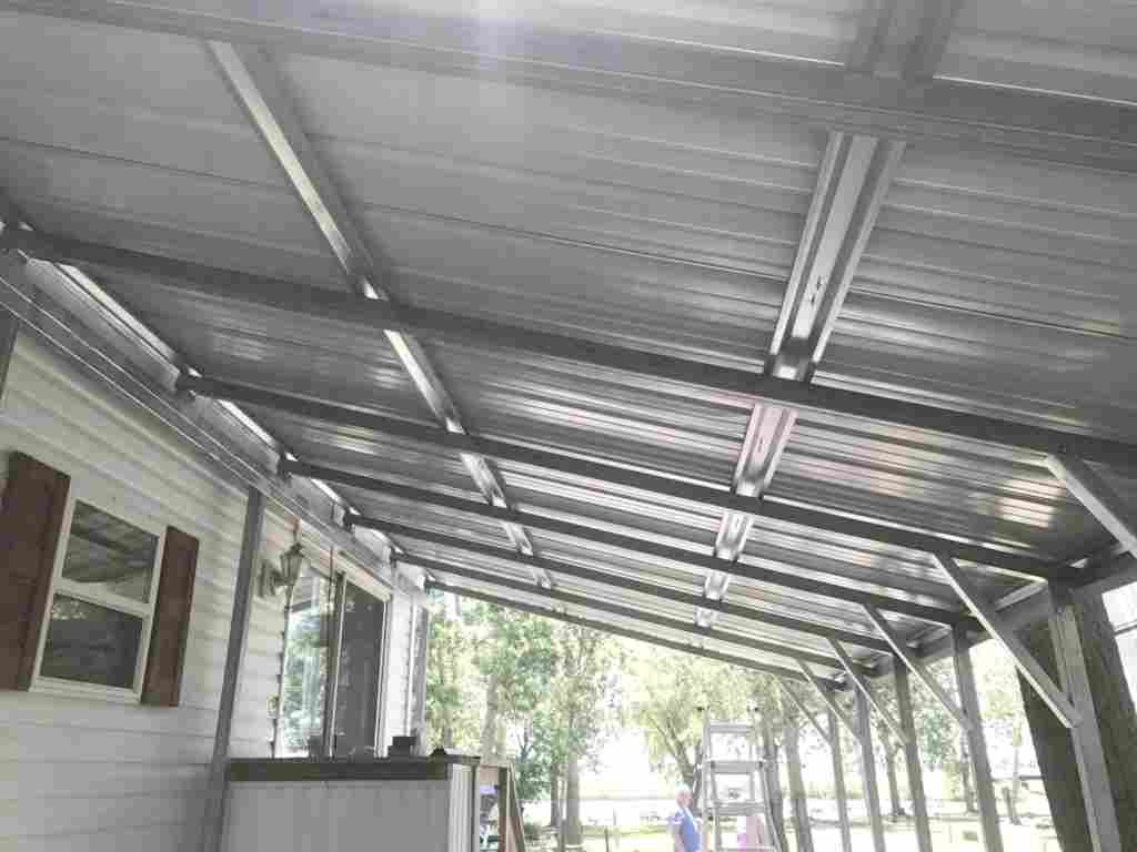 metal carport frame parts how to convert a carport into a garage enclosing a metal carport with wood siding carport side curtains