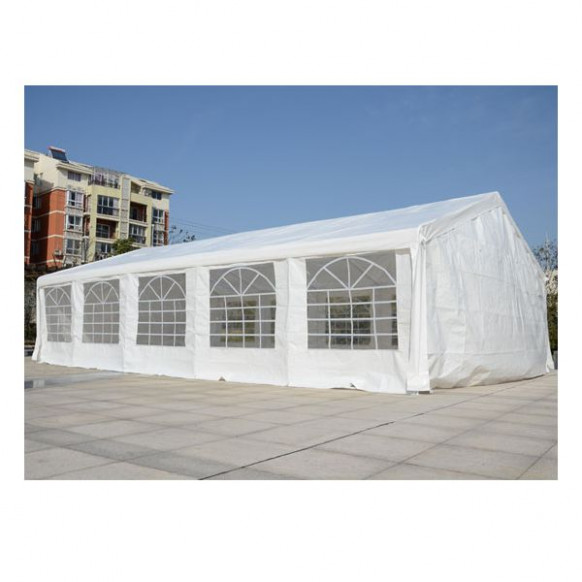 Outsunny 33'x20' White Heavy Duty Carport Party Tent ..