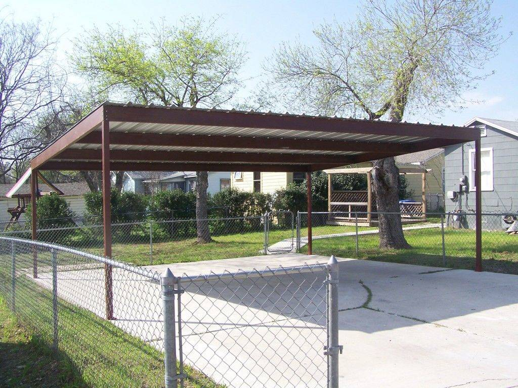 51 View of Home depot carport canopy