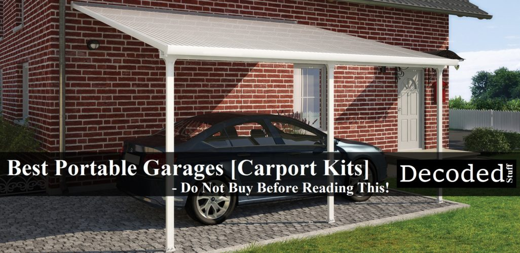 Best Portable Garages Carports Do Not Buy Before Reading This 1026x500