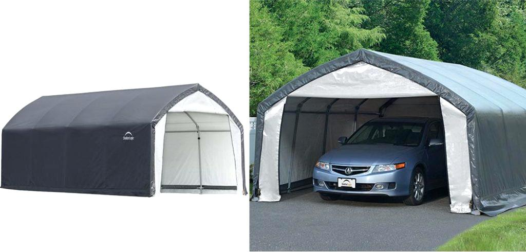 best portable garage keep your car truck or motorcycle covered with confidence with the shelter canopy carport with a sturdy steel frame and