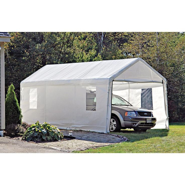 portable carport ideas Fresh ShelterLogic Portable Garage Canopy Carport 10 x 20