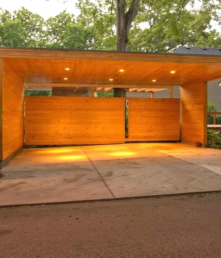 Best Carports Design Carport Area With Wooden Design Material With Warm Lighting Carport What To Consider When Garage Carports Designs