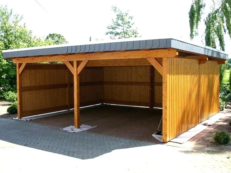 Crazy Cool Carports Cost To Build A Carport How Much Does It Double Garage And Storage Ideas