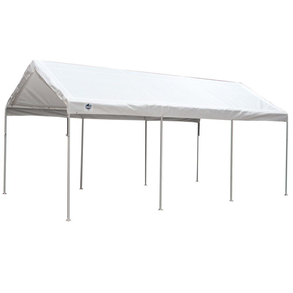 king canopy portable garages car canopies c81020pc 64 1000