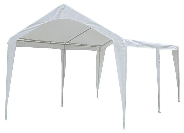 outdoor carport canopy with 6 steel legs 10x20 sidewalls white contemporary canopies tents and awnings