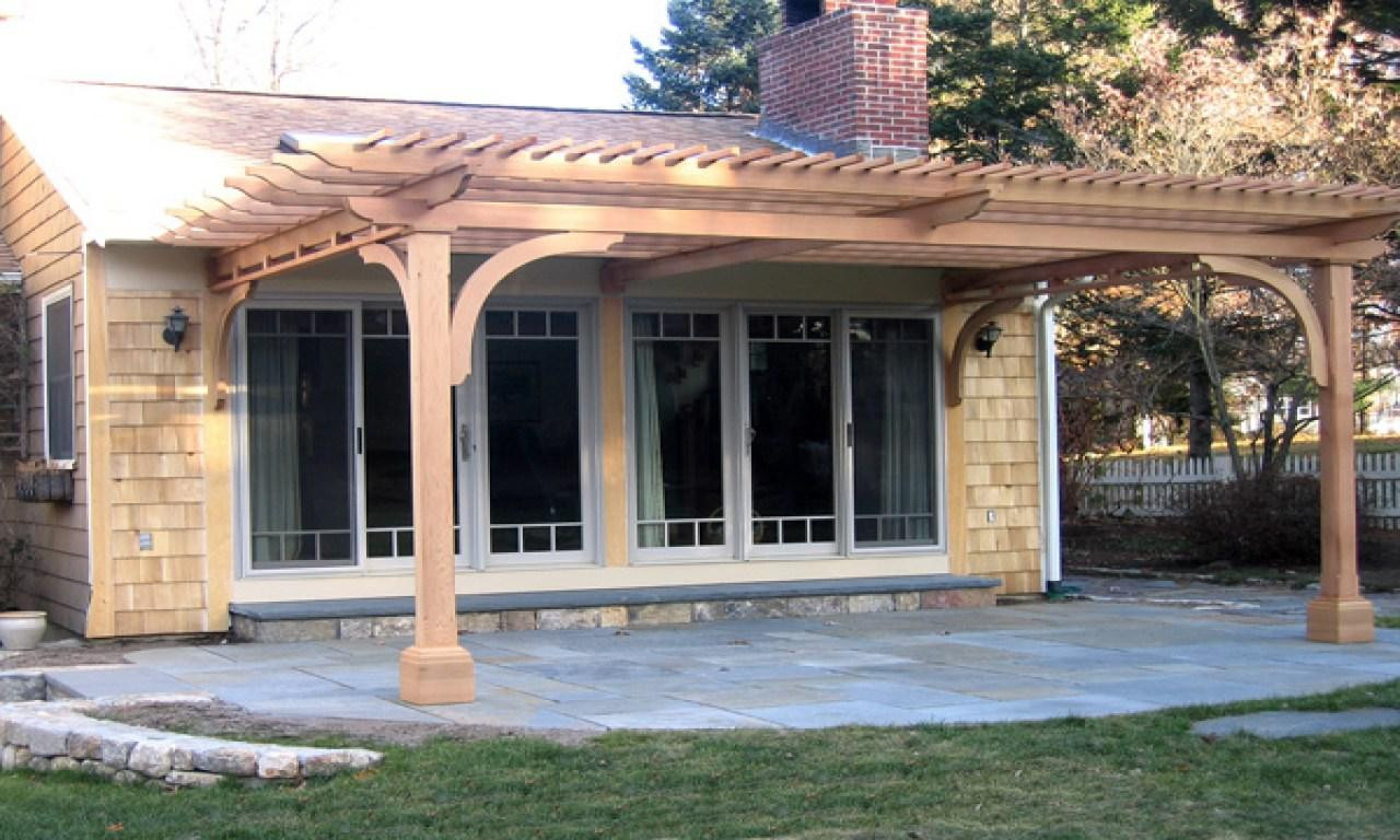 Pergola Carport Attached To Best Free Home Design Pergola With Pergola Attached To House Designs