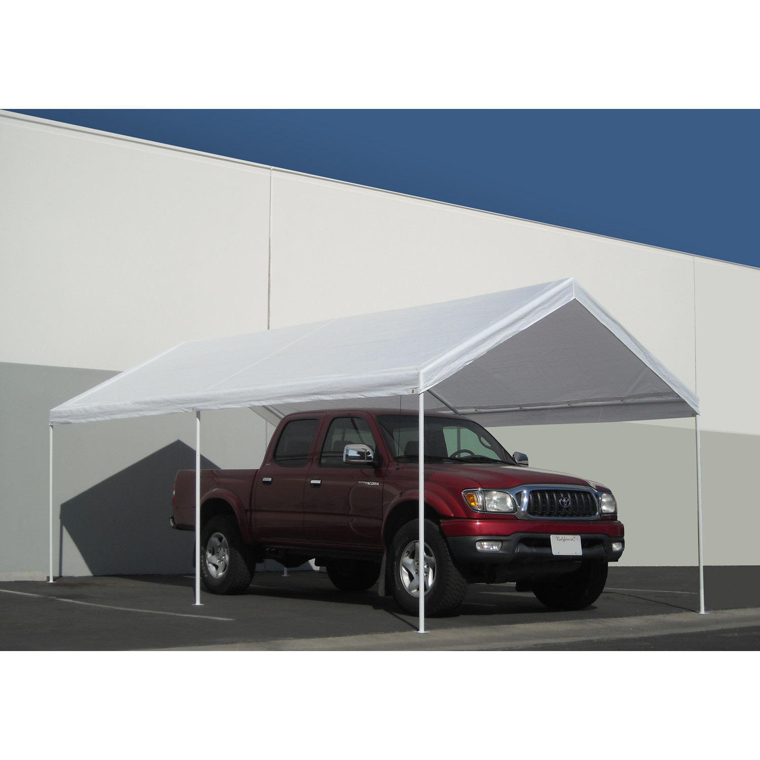 Pleasant Portable Carport Costco With Decorating Portable Car Garage Shelter Costco With Green Grass Of Portable Carport Costco