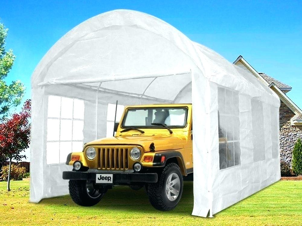 Portable Garage Costco Portable Garage Tent Metal Carport Frame Steel Car Big Garage Tent Shelter Portable Auto Rain Canopy Portable Garage Portable