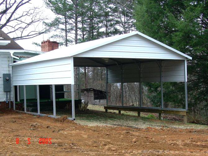 Portable Metal Carport Garage Carports Canada Near Me