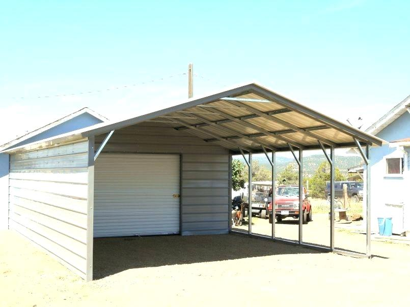 Portable Metal Garage Carport Kits Building A Backyard Ideas