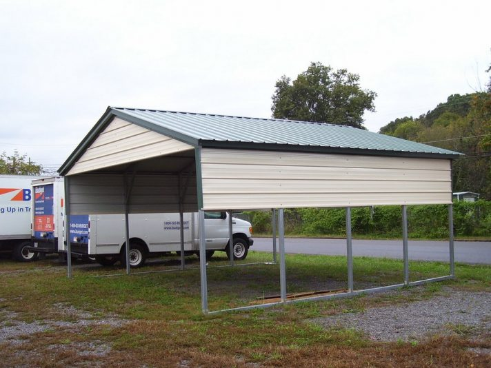 24 kind of enclosed carport package