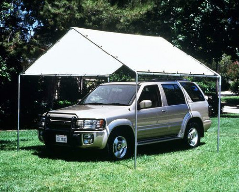 10 X 10 Heavy Duty Canopy Kit Tarp Carport Cover With ..