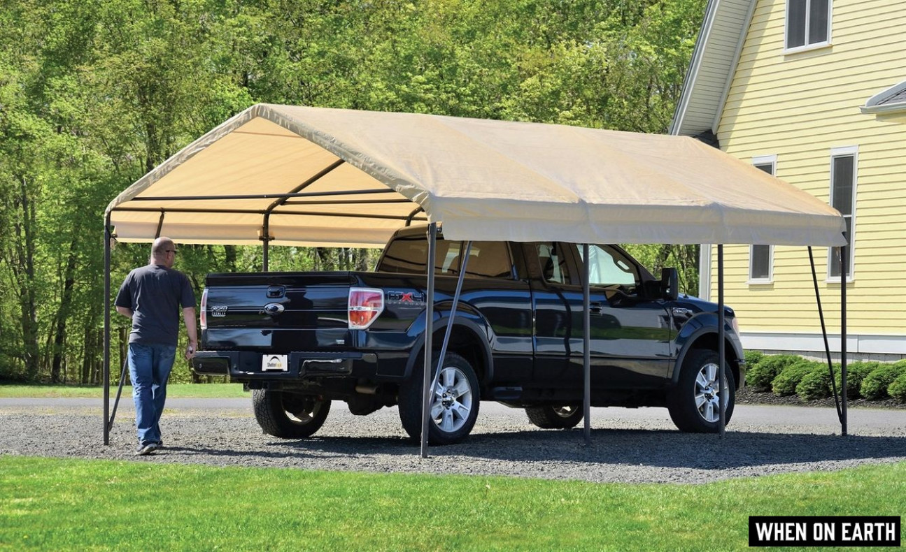 11 Best Portable Garages [Carports] 11 – Why They Are Worth Buying! How To Anchor A Portable Carport