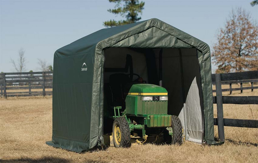 4 Great Uses For Portable Outdoor Sheds And Tarp Buildings How To Move A Portable Carport