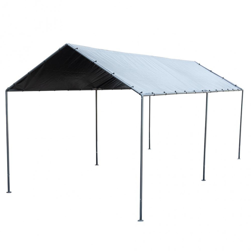 Abba Patio 9 X 9 Feet Light Portable Carport Canopy With 9 Steel Leg Tent Carport Canopy