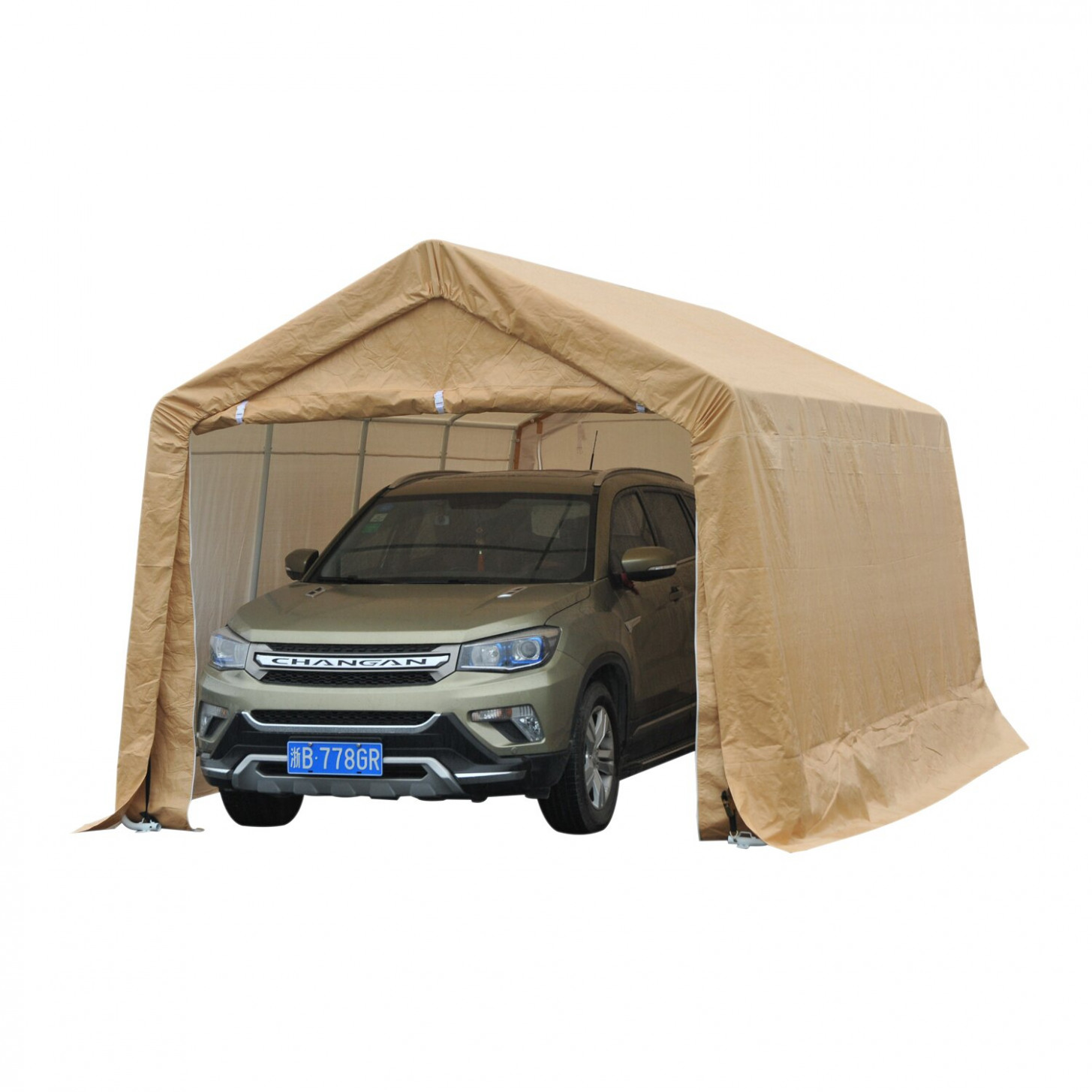 Aosom: Outsunny 13' X 13.13' Temporary Heavy Duty Outdoor Carport ..