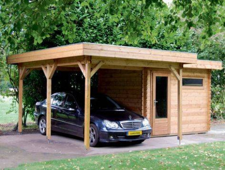 How To Choose A Site For Wooden Carport | Building Wooden ..