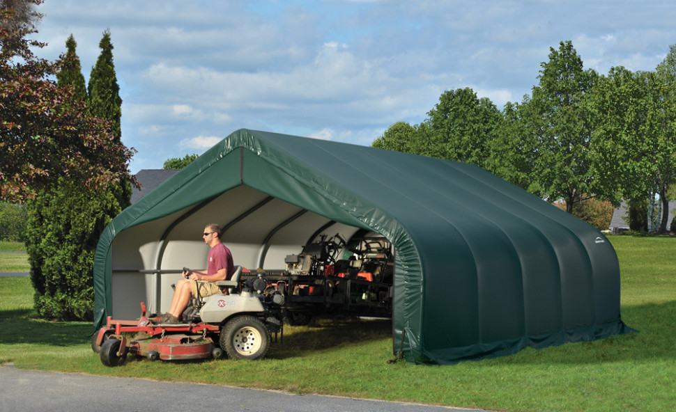 Need An Upgrade? Replace Your ShelterLogic Garage Cover Repairing A Portable Carport