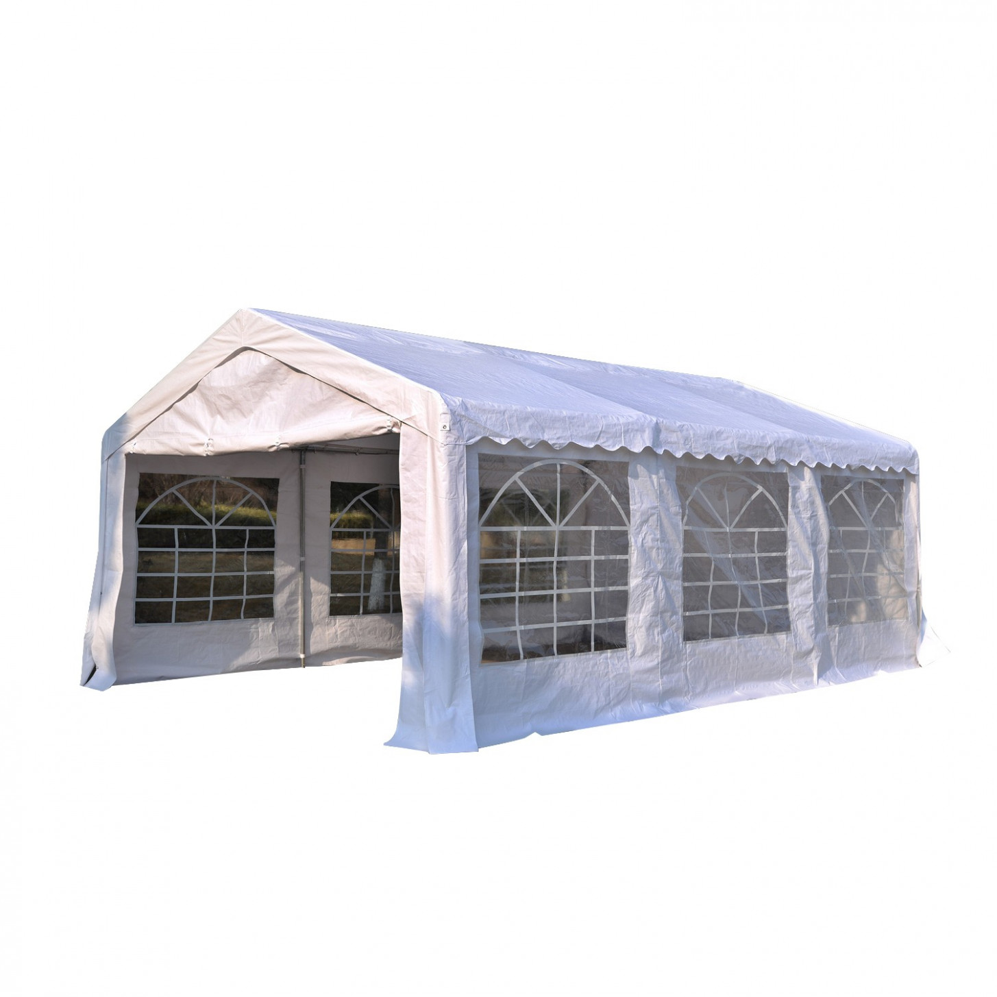 Outsunny 13'x26' Heavy Duty Outdoor Carport Wedding Party ..
